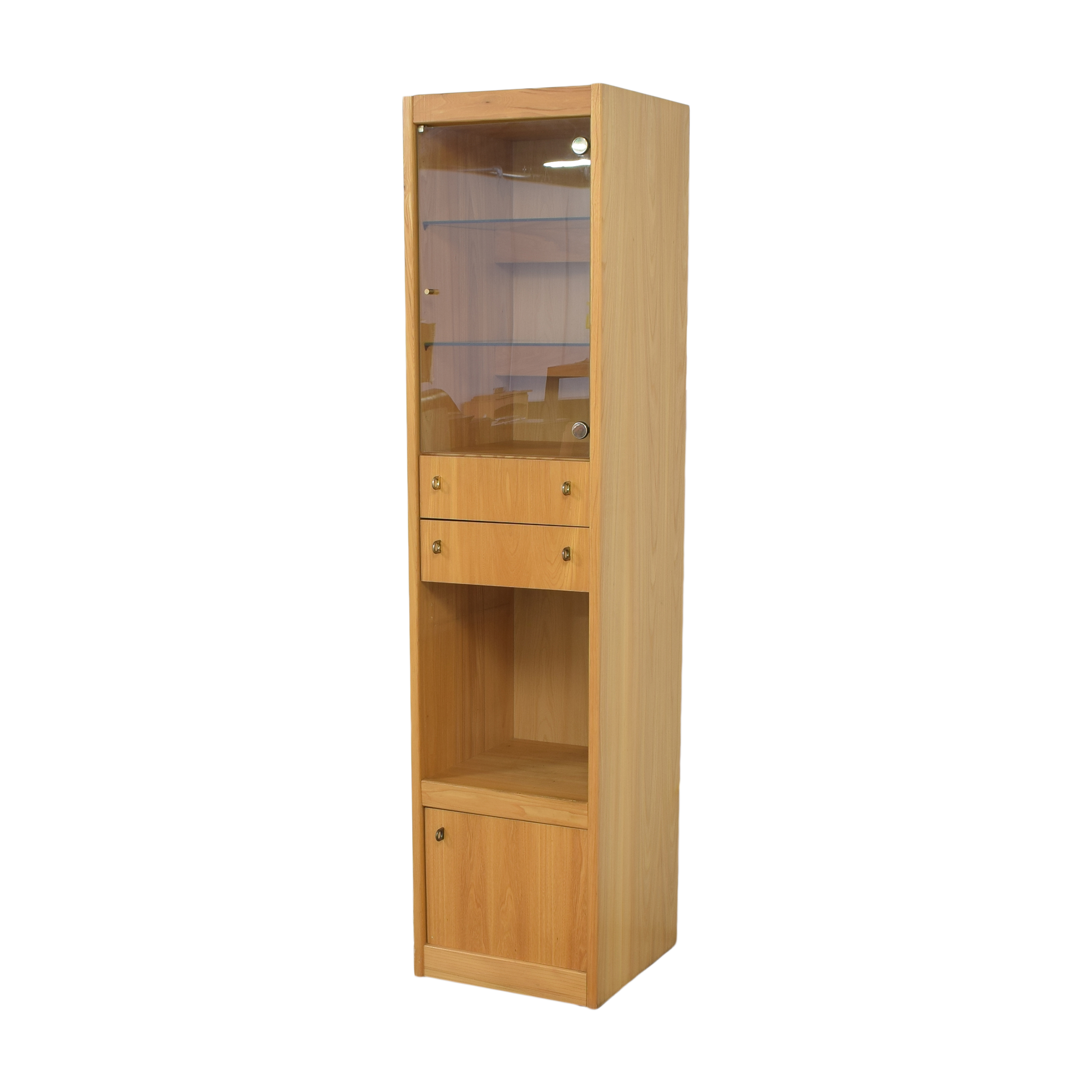 Macy's Macy's Tall Lighted Cabinet ct