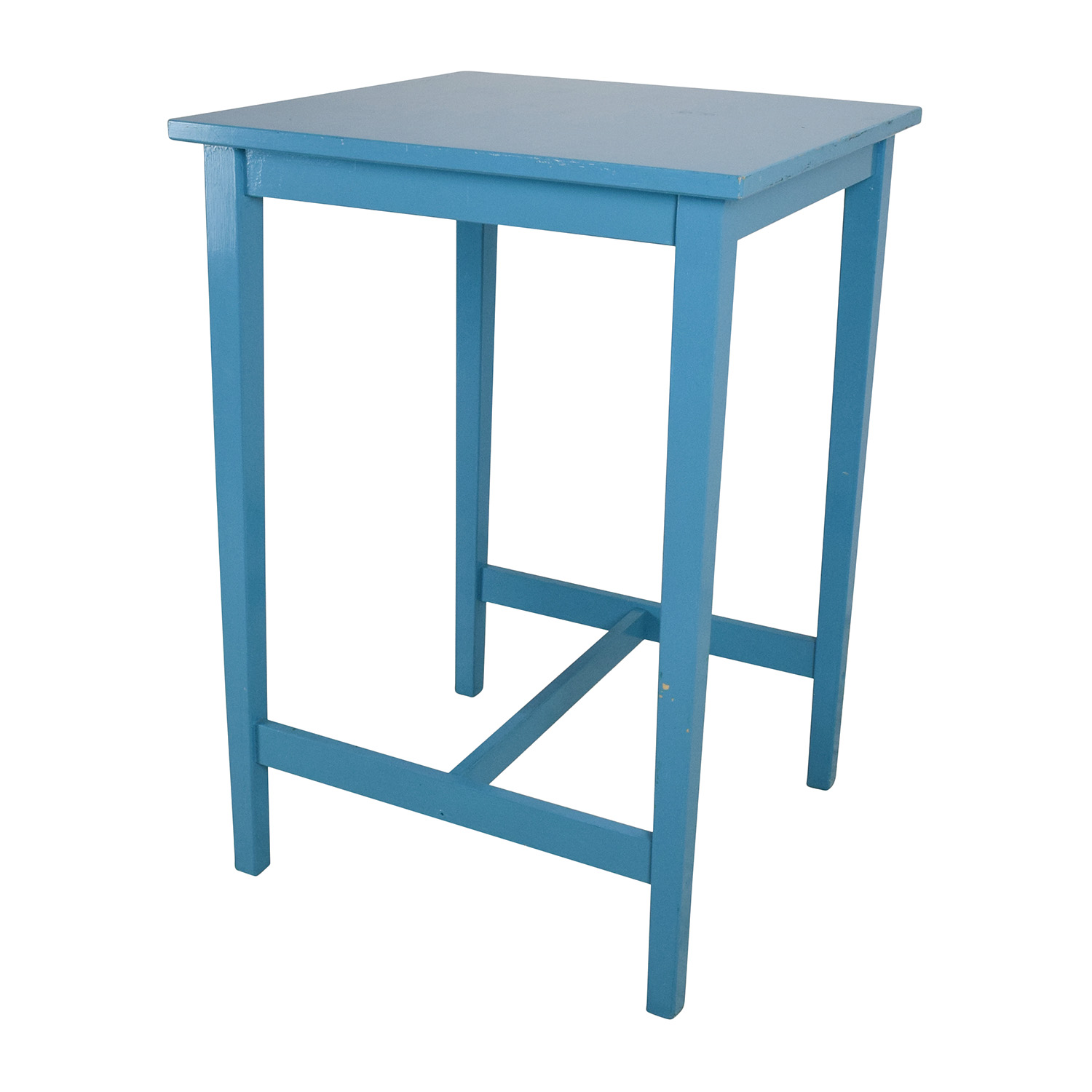 Beau Blue Wooden High Table Sale