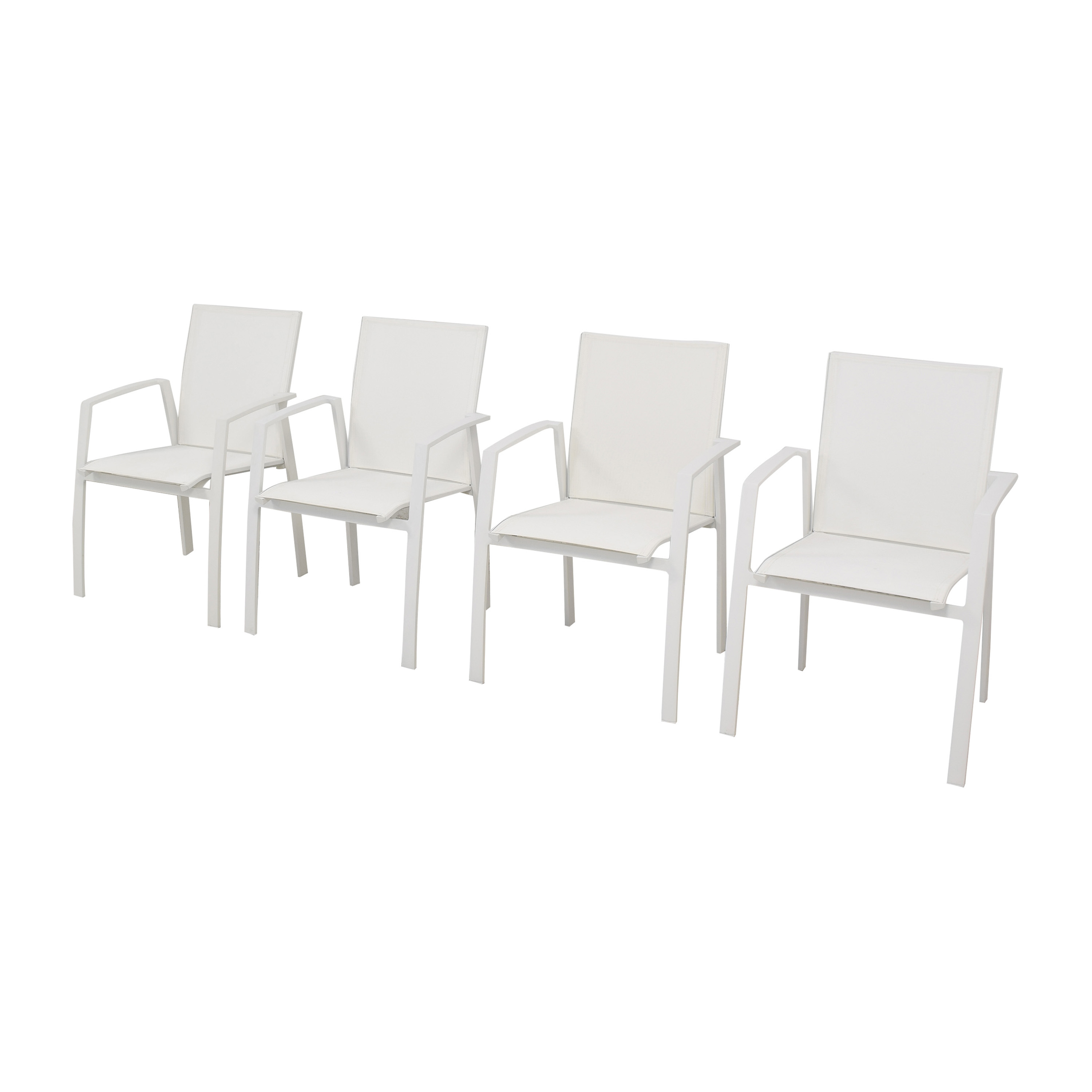 Frontgate Frontgate Newport Dining Chairs second hand