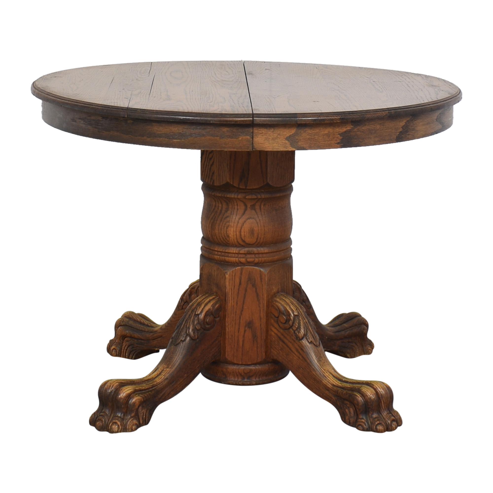 buy Clawfoot Extendable Dining Table