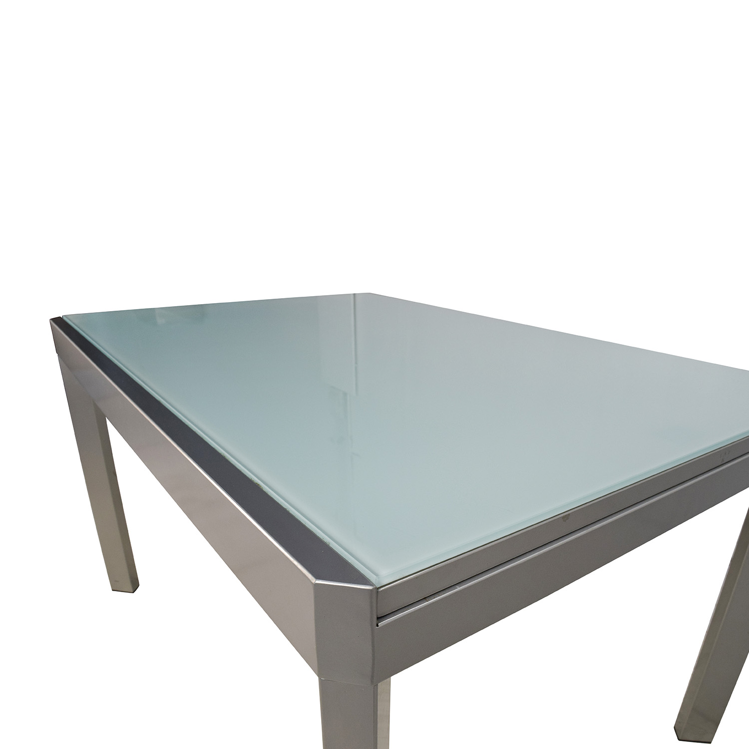 86% OFF Calligaris Calligaris Extendable Glass Dining Table Tables