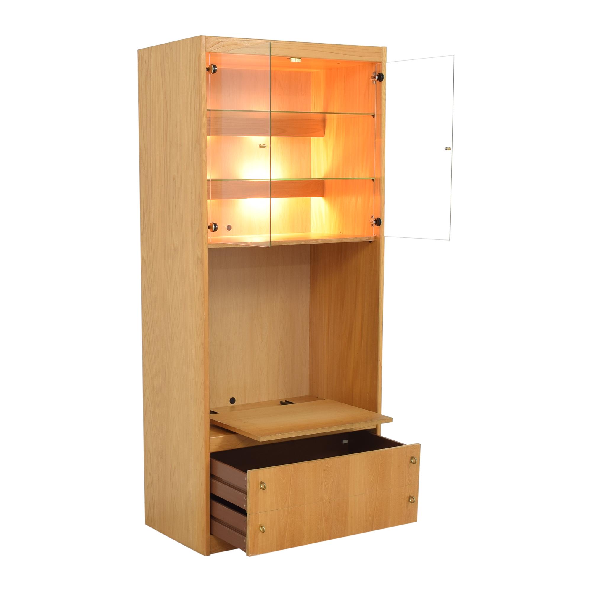 Macy's Lighted Media Cabinet / Media Units