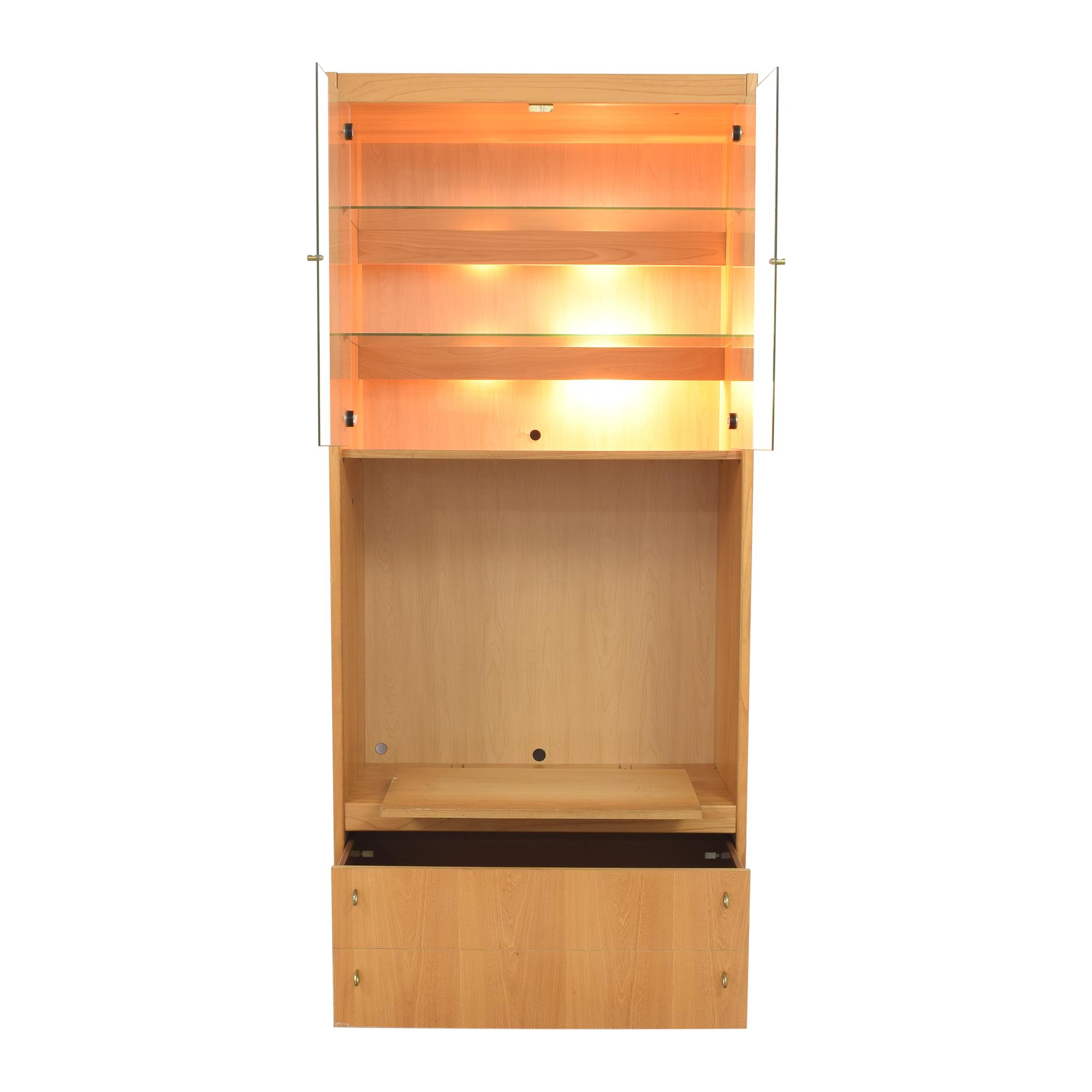 Macy's Macy's Lighted Media Cabinet nyc