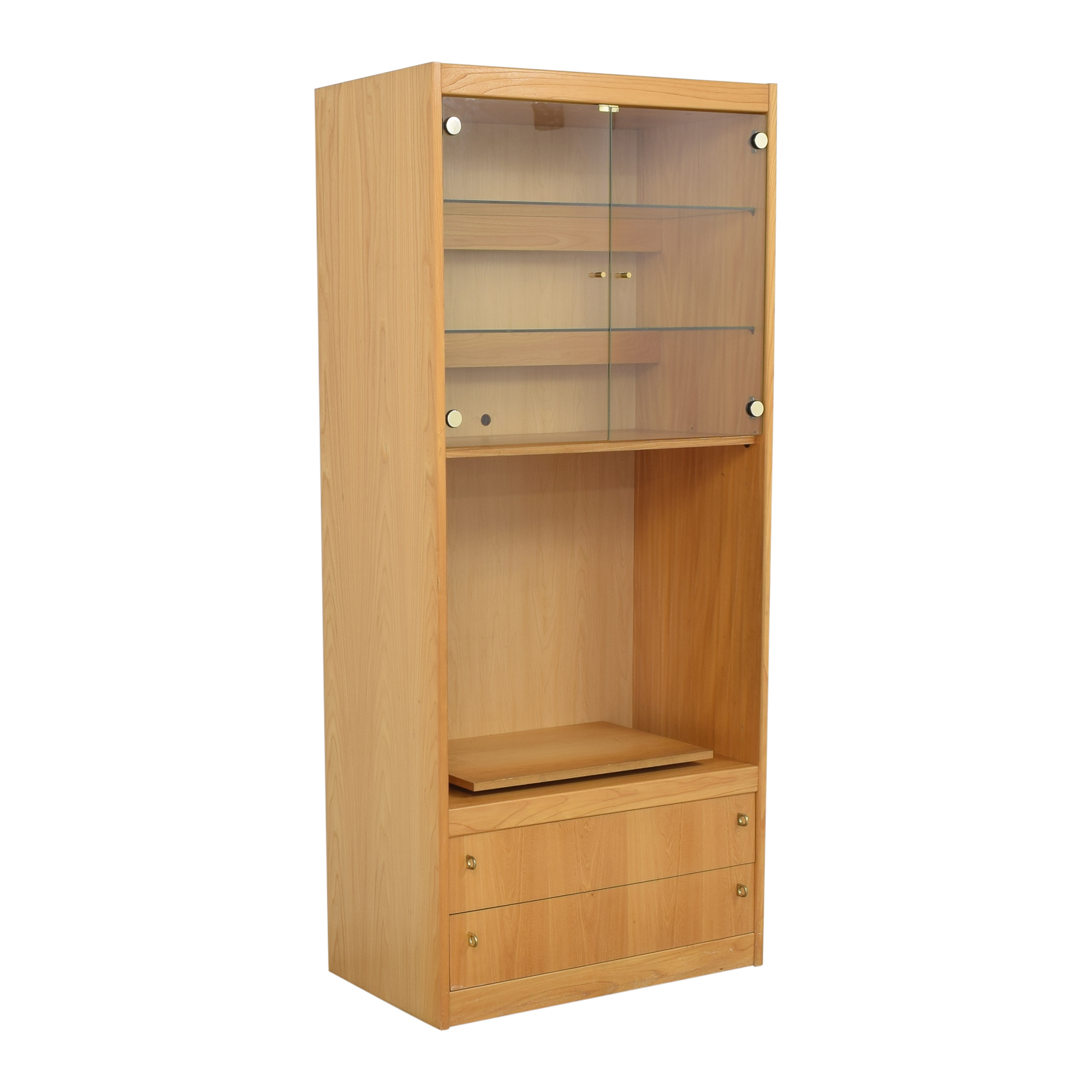 buy Macy's Lighted Media Cabinet Macy's