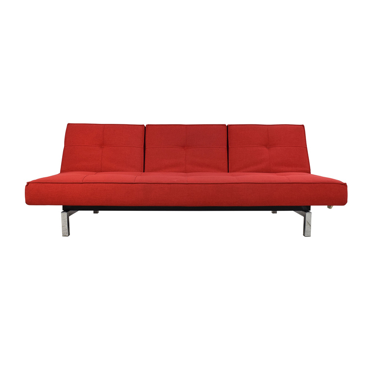Room and Board Room & Board Eden Convertible Red Sofa nyc