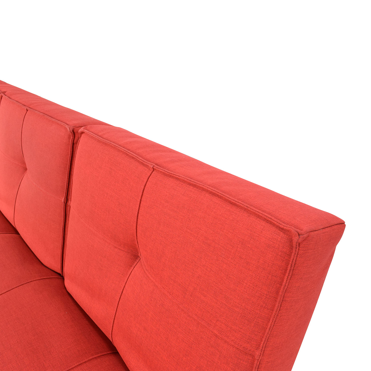 buy Room and Board Room & Board Eden Convertible Red Sofa online