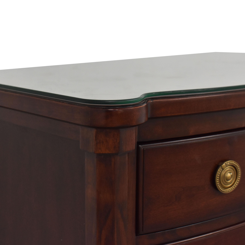 61 Off Bernhardt Bernhardt Martha Stewart Signature Seal Harbor Bedside Chest Tables