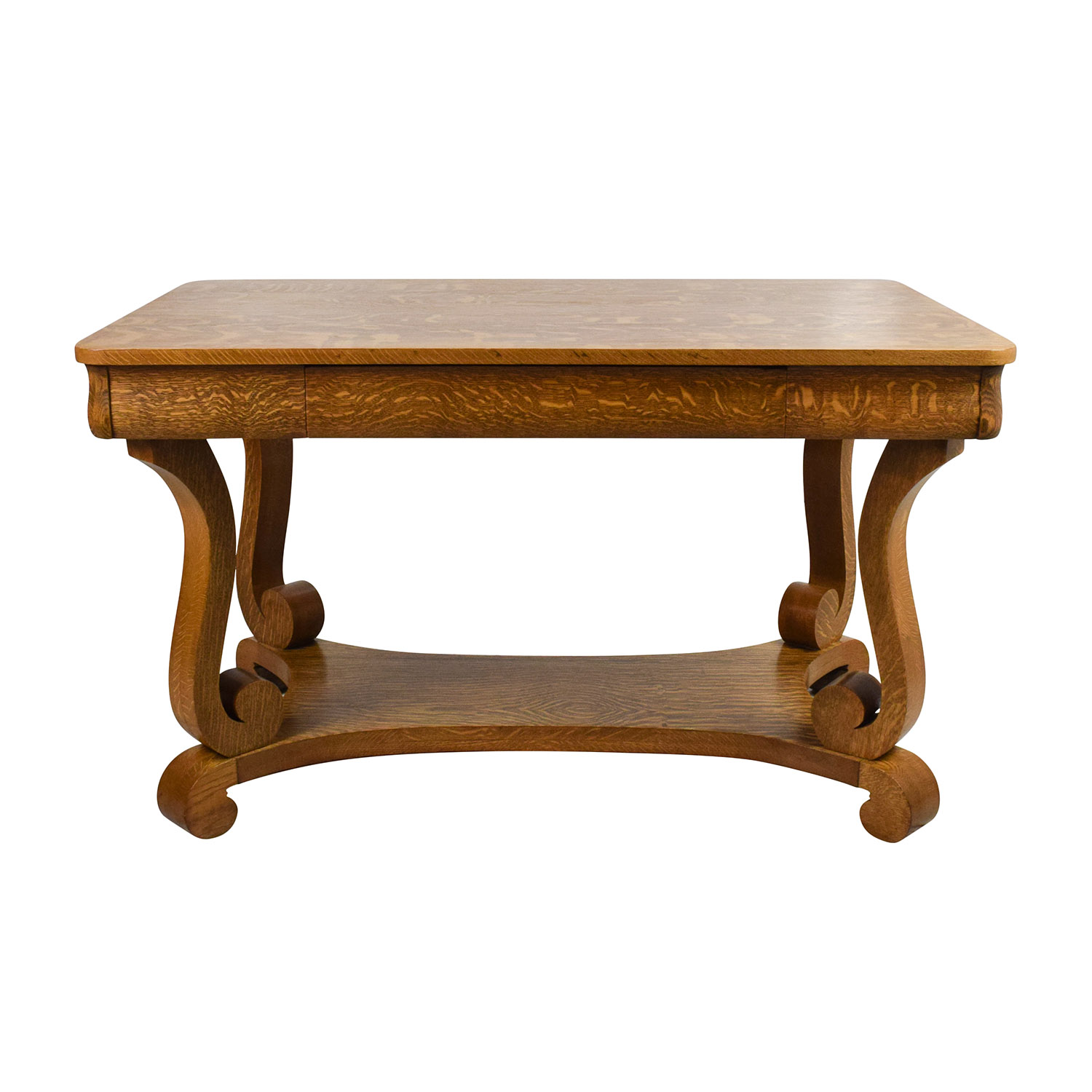Antique Oak Library Table sale