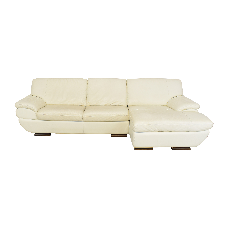 Nicoletti Home Nicoletti Home Modern Chaise Sofa on sale