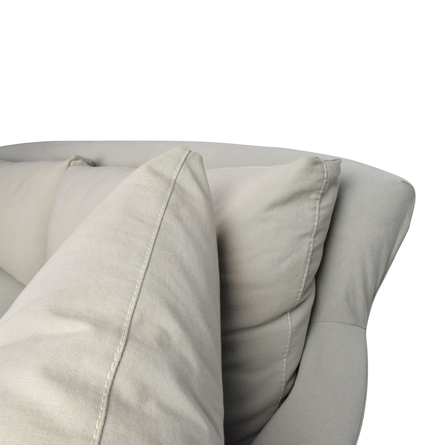 2 Piece Sectional Sofa Slipcovers 100 Down Filled