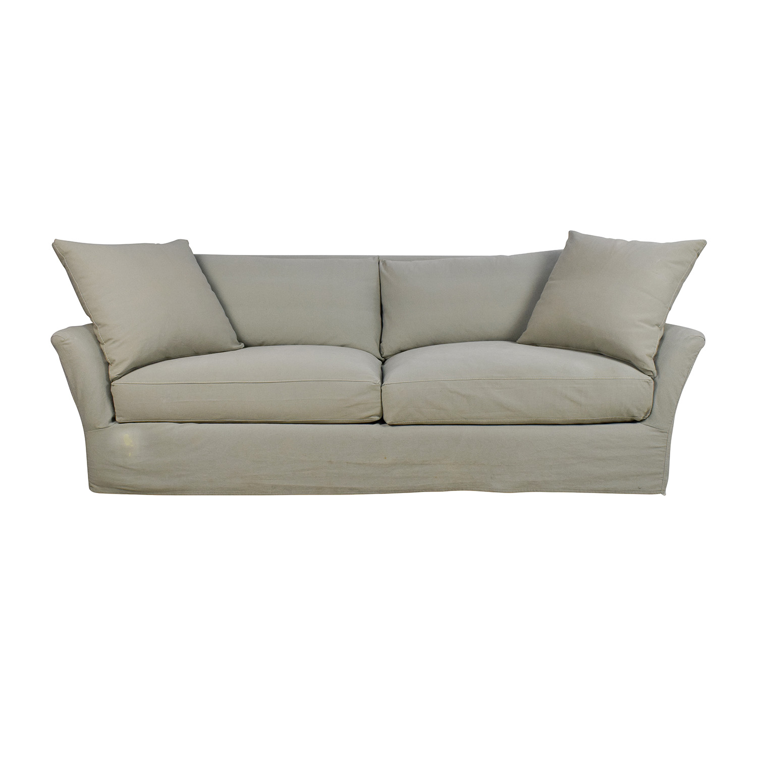 shop Crate and Barrel Crate & Barrel Willow Sage Green Sofa online