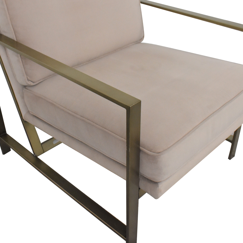 West Elm West Elm Metal Frame Upholstered Chair coupon