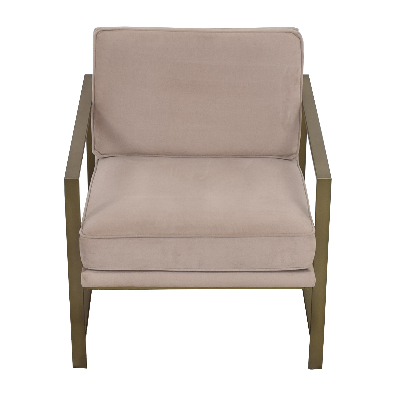 buy West Elm West Elm Metal Frame Upholstered Chair online
