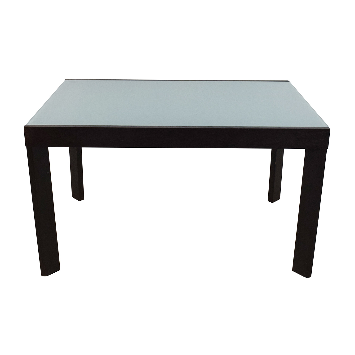 Calligaris Calligaris Extendable Glass Dining Table dimensions