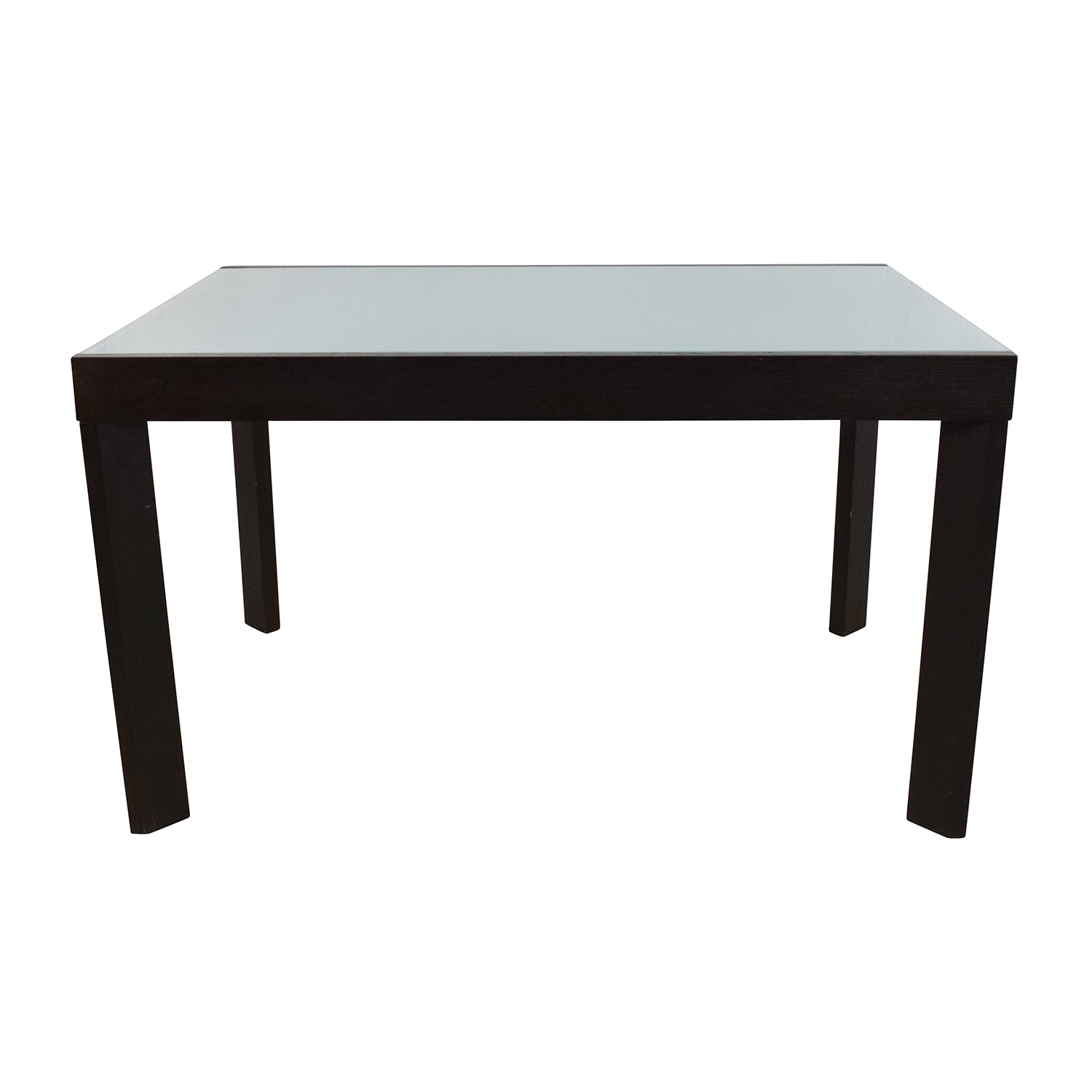 Calligaris Extendable Glass Dining Table Calligaris