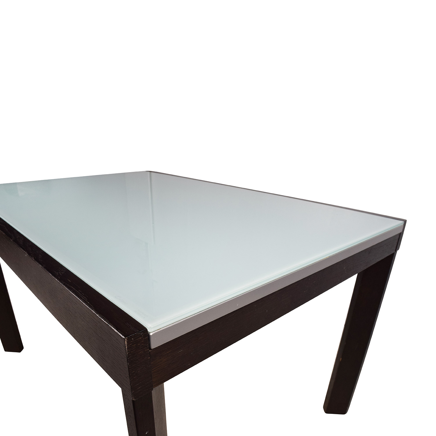75% OFF Calligaris Calligaris Extendable Glass Dining Table Tables