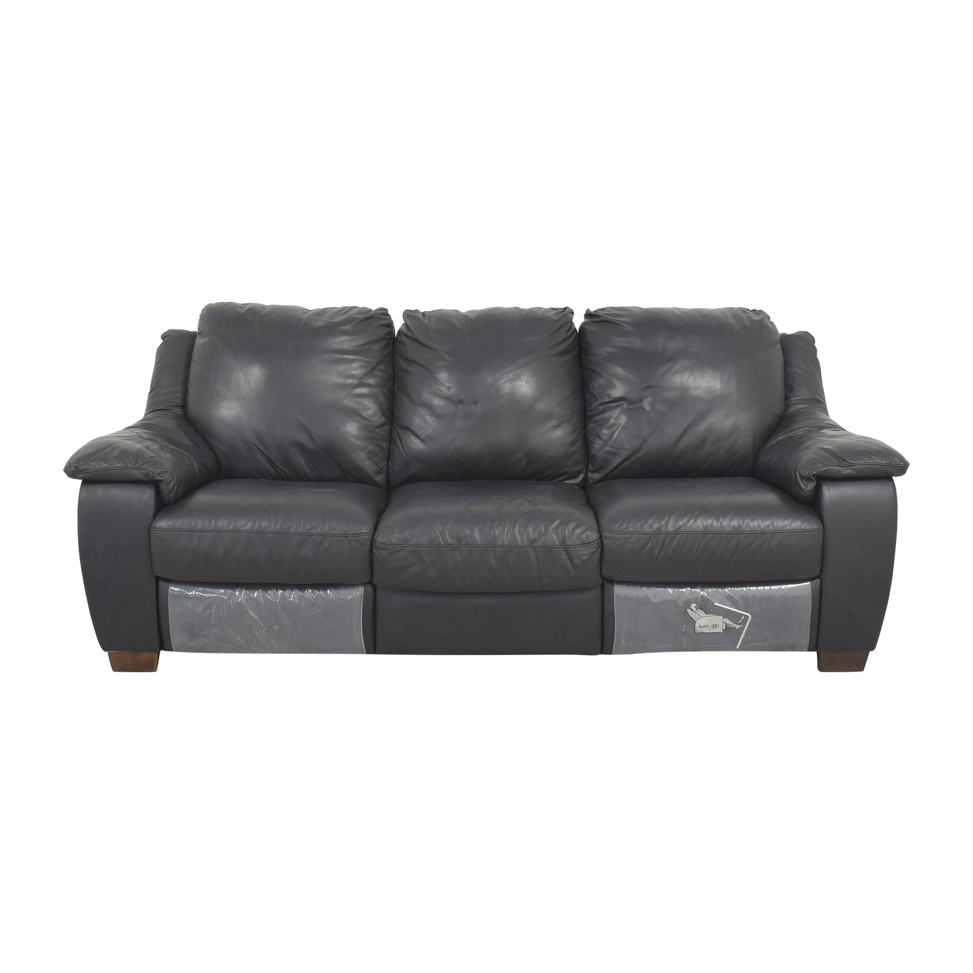 Natuzzi Double Recliner Sofa / Classic Sofas