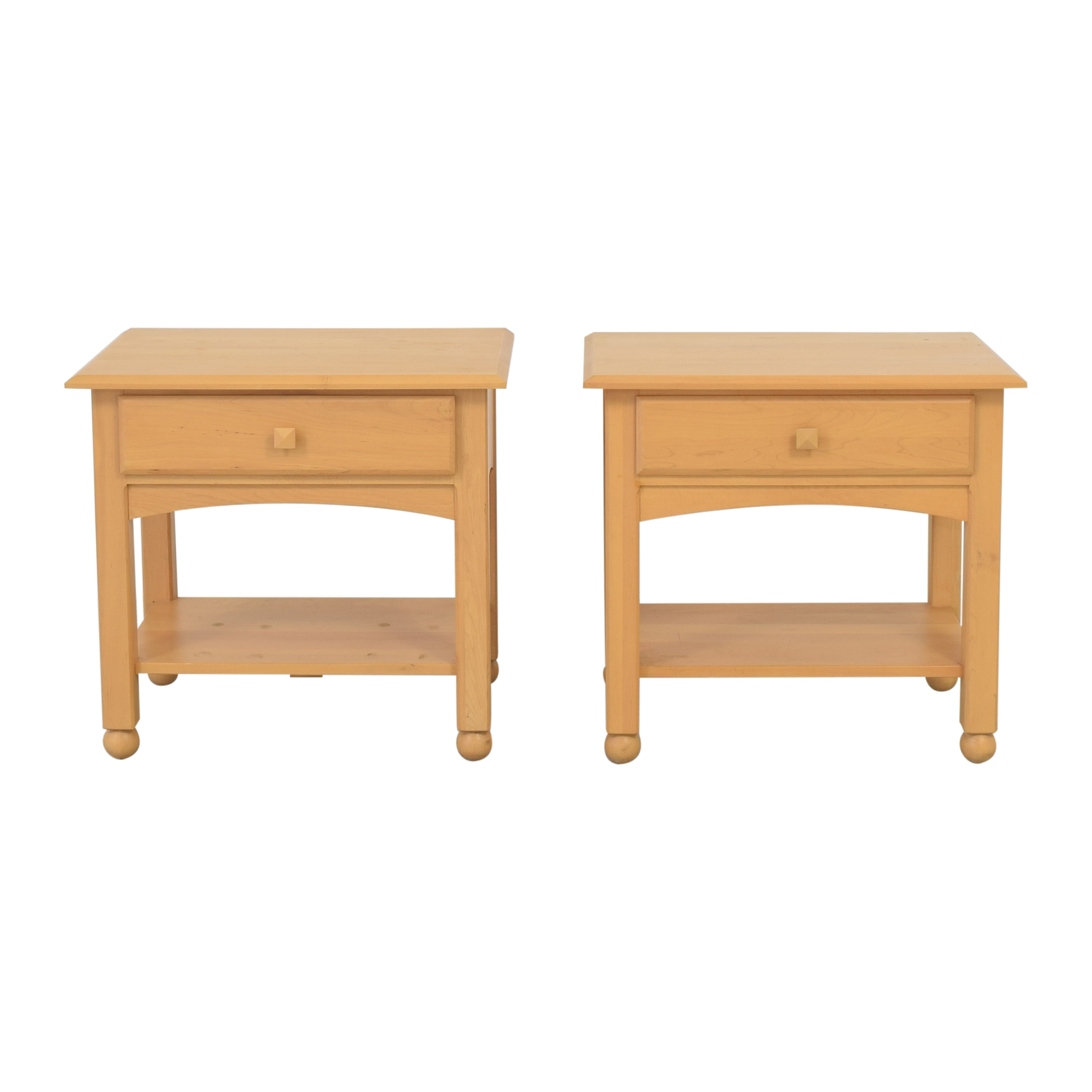 buy Ethan Allen American Dimensions End Tables Ethan Allen Storage