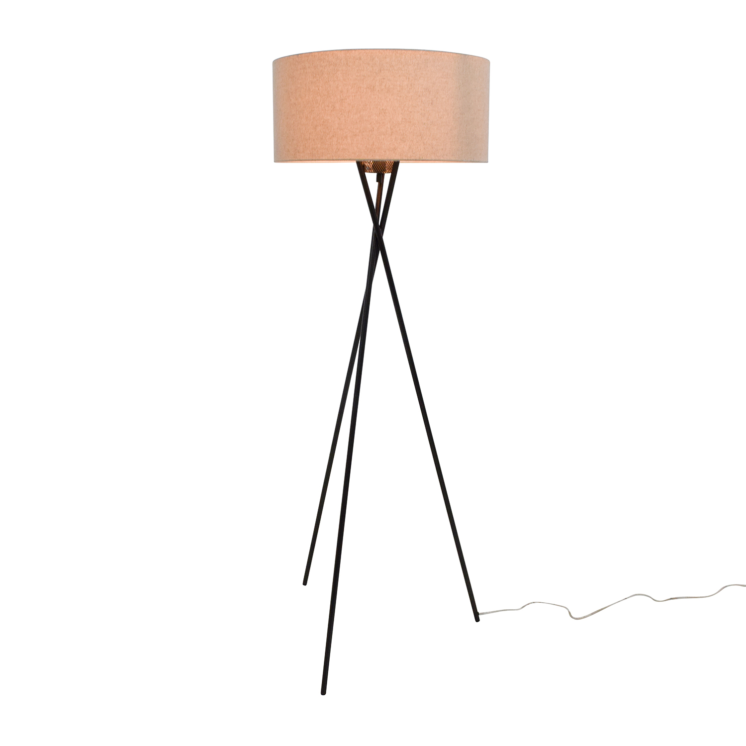 Pottery Barn Pottery Barn Tripod Standing Lamp Brown