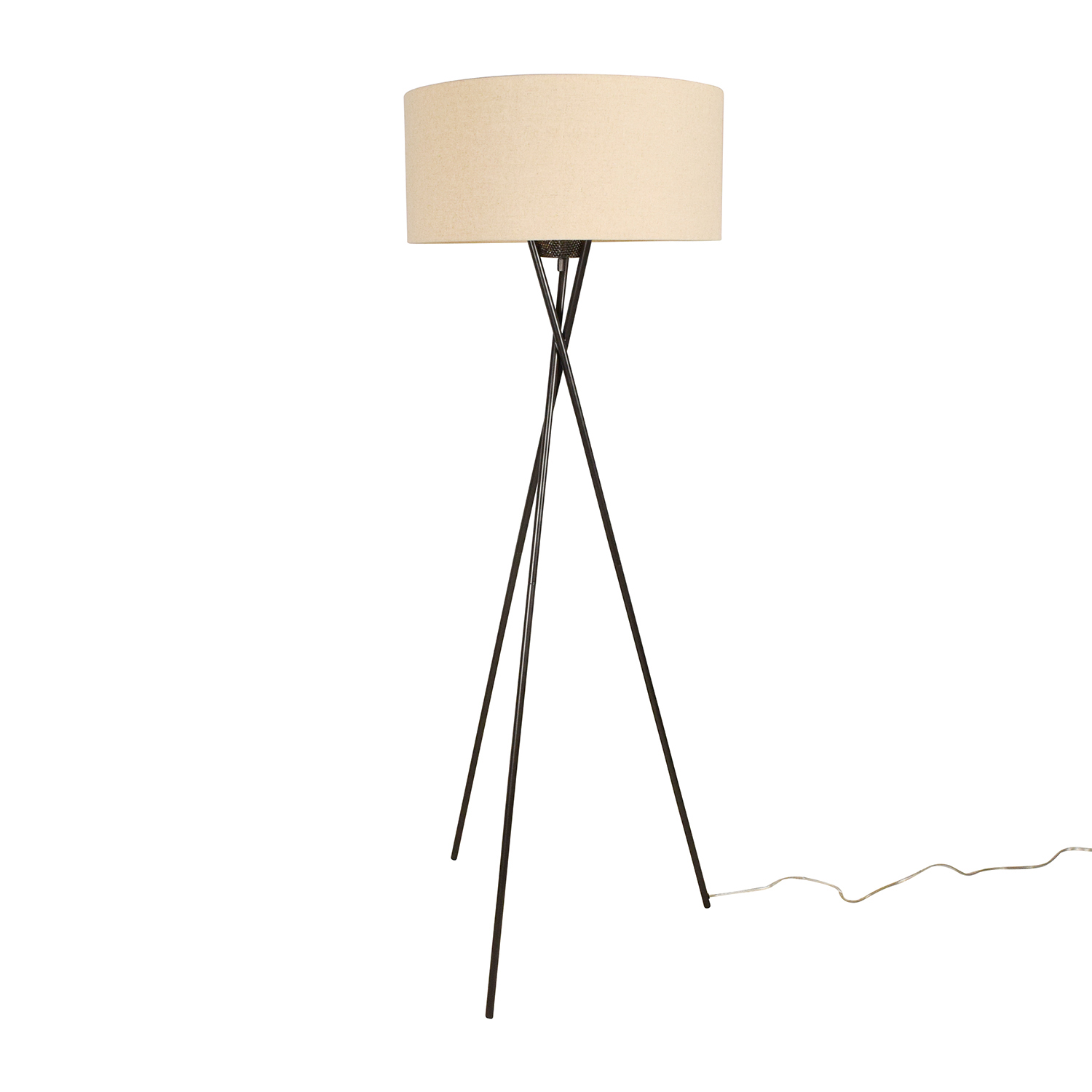 Pottery Barn Standing Lamps: Pottery Barn Pottery Barn Tripod Standing Lamp