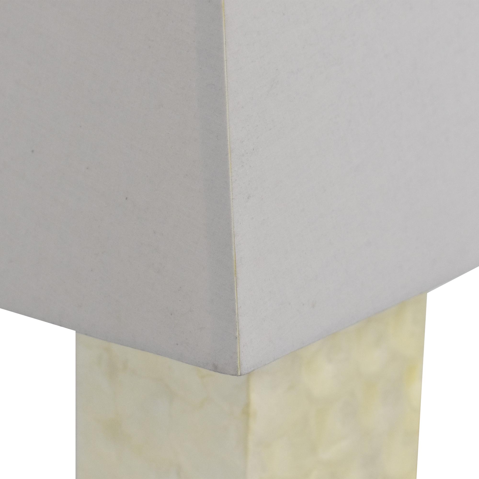 West Elm West Elm Capiz Block Table Lamps Decor