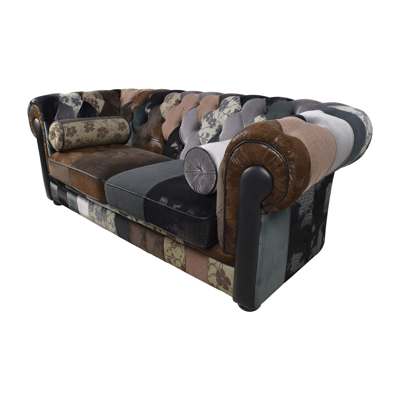 68 off france and son france son egan tufted. Black Bedroom Furniture Sets. Home Design Ideas