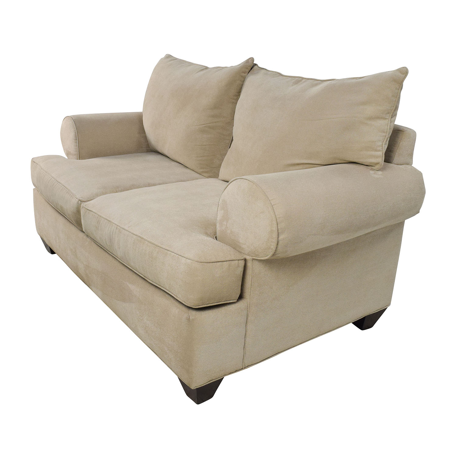 Beige microfiber sofa the features of a microfiber for Microfiber sectional sofa