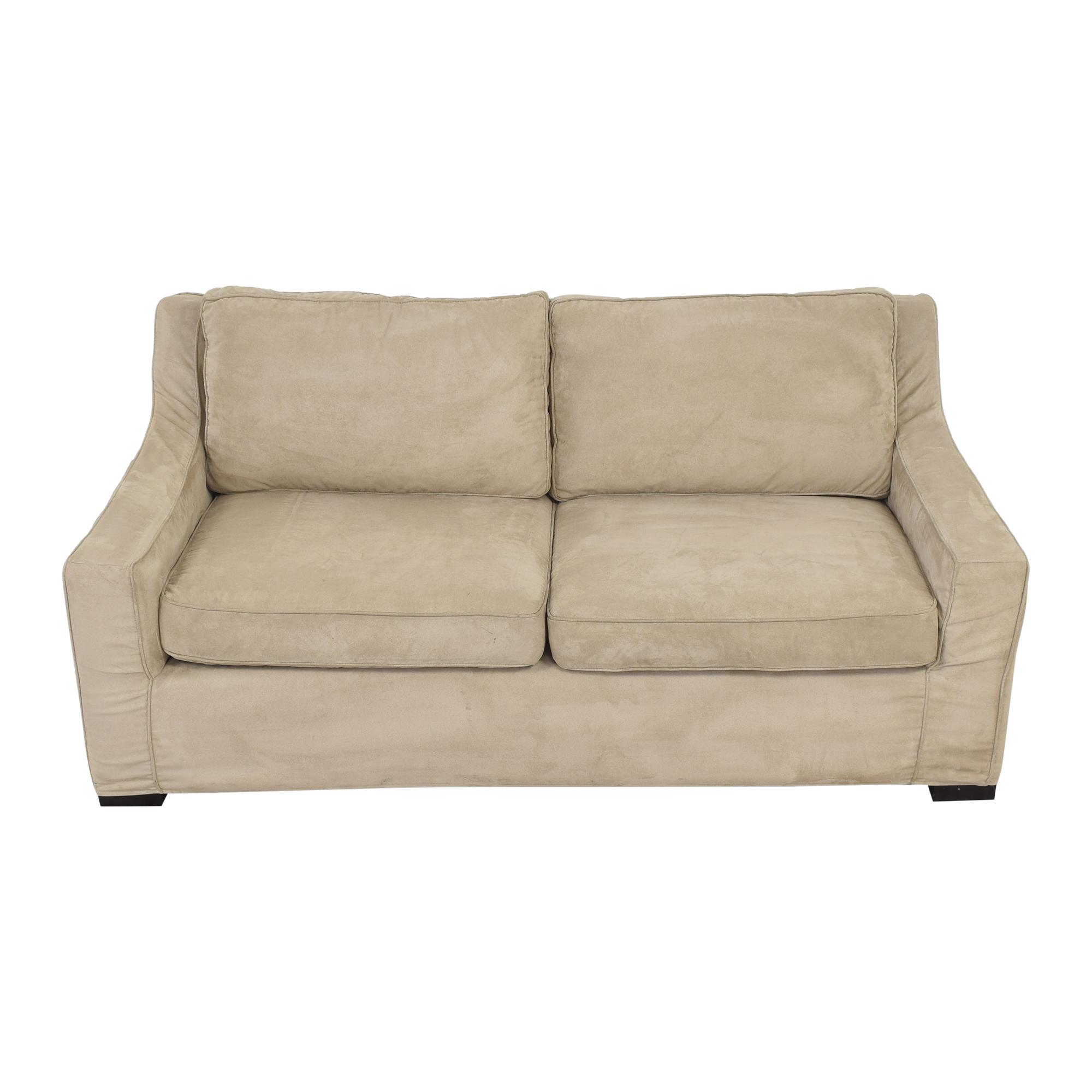 Crate & Barrel Two Cushion Sofa / Classic Sofas