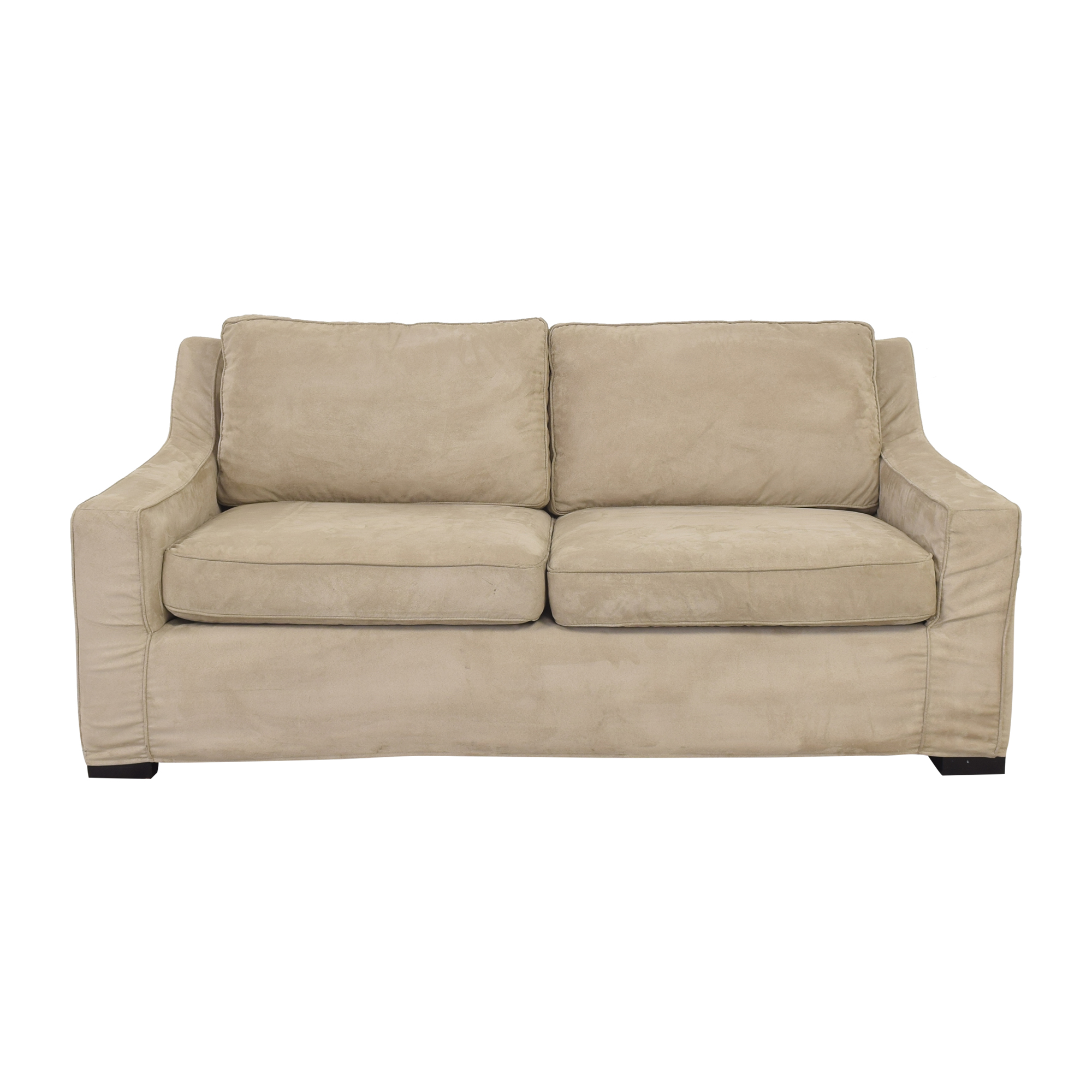 Crate & Barrel Two Cushion Sofa / Classic Sofas