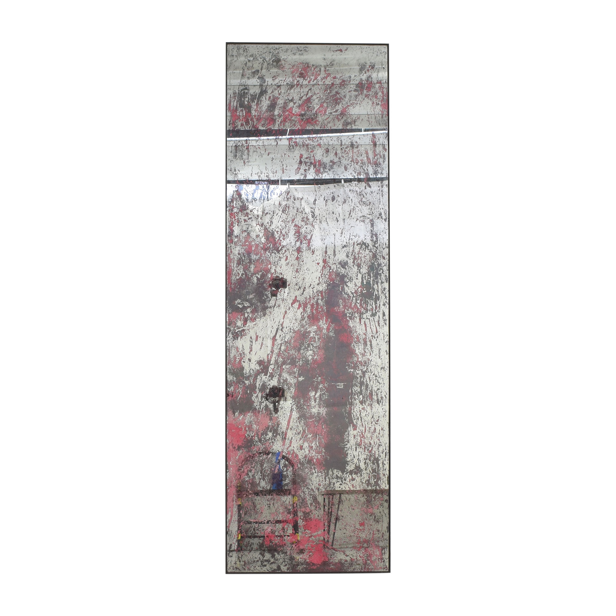 ABC Carpet & Home Distressed Mirror / Decor