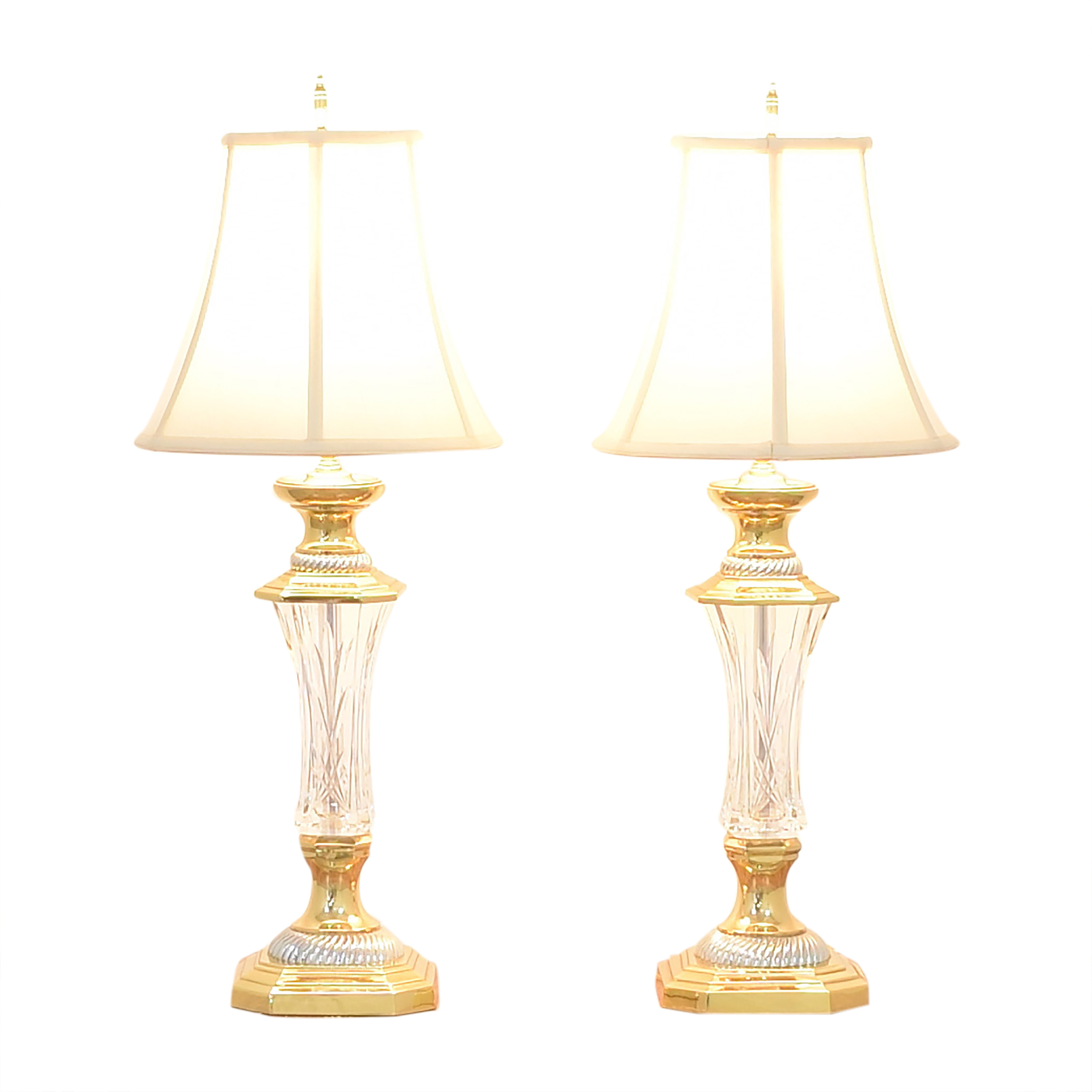 Waterford Florence Court Table Lamps / Decor