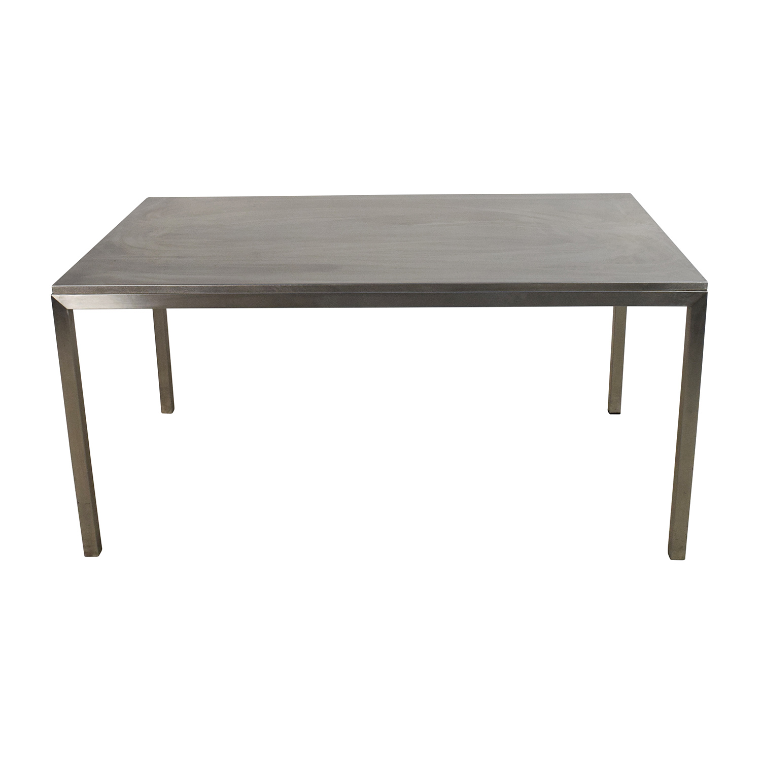 Room and Board Room & Board Portica Stainless Steel Dining Table for sale