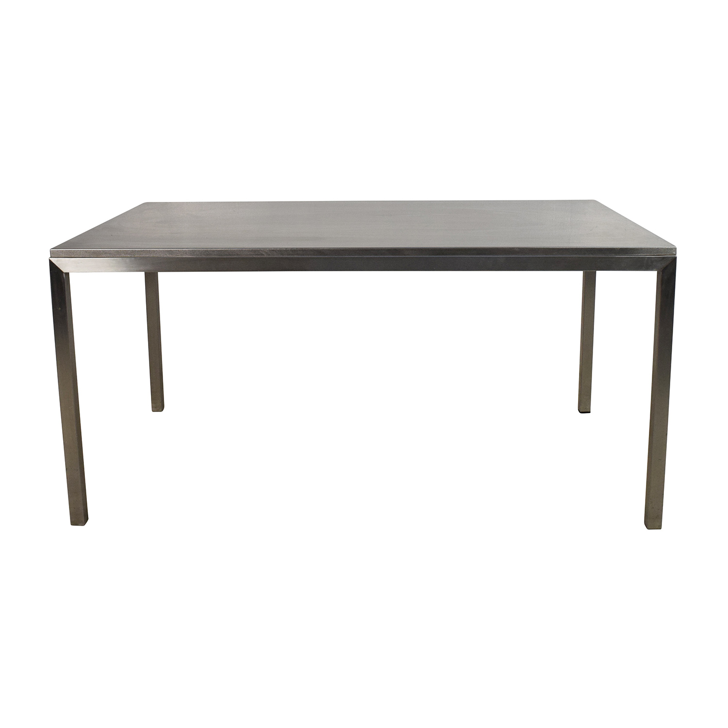 buy Room & Board Portica Stainless Steel Dining Table Room and Board