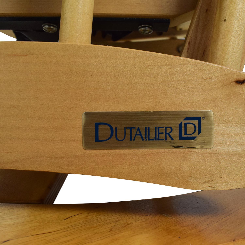 100 dutailier glider recliner and ottoman furniture dutaili