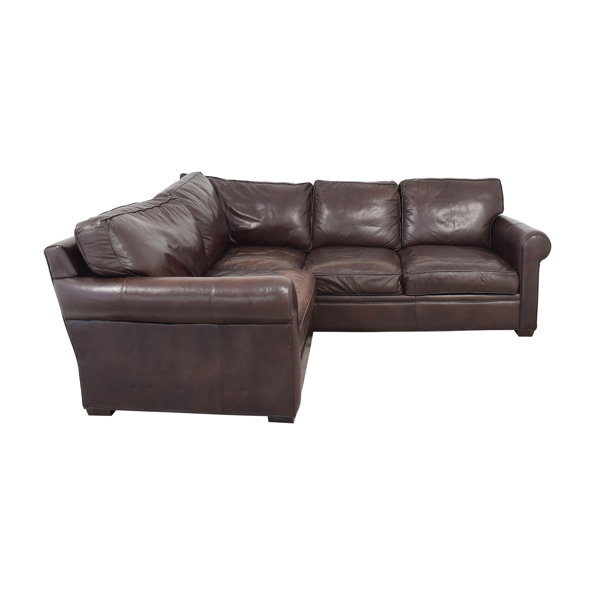 Crate & Barrel Crate & Barrel L-Shaped Sectional Sofa Sectionals