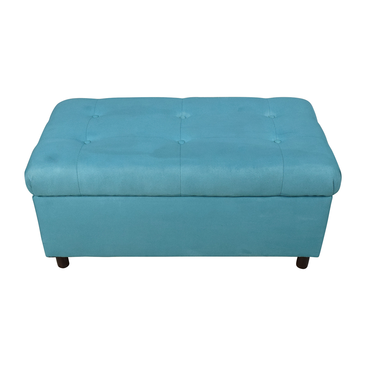 Alcott Hill Alcott Hill Bretton Tufted Top Bench Storage Ottoman on sale