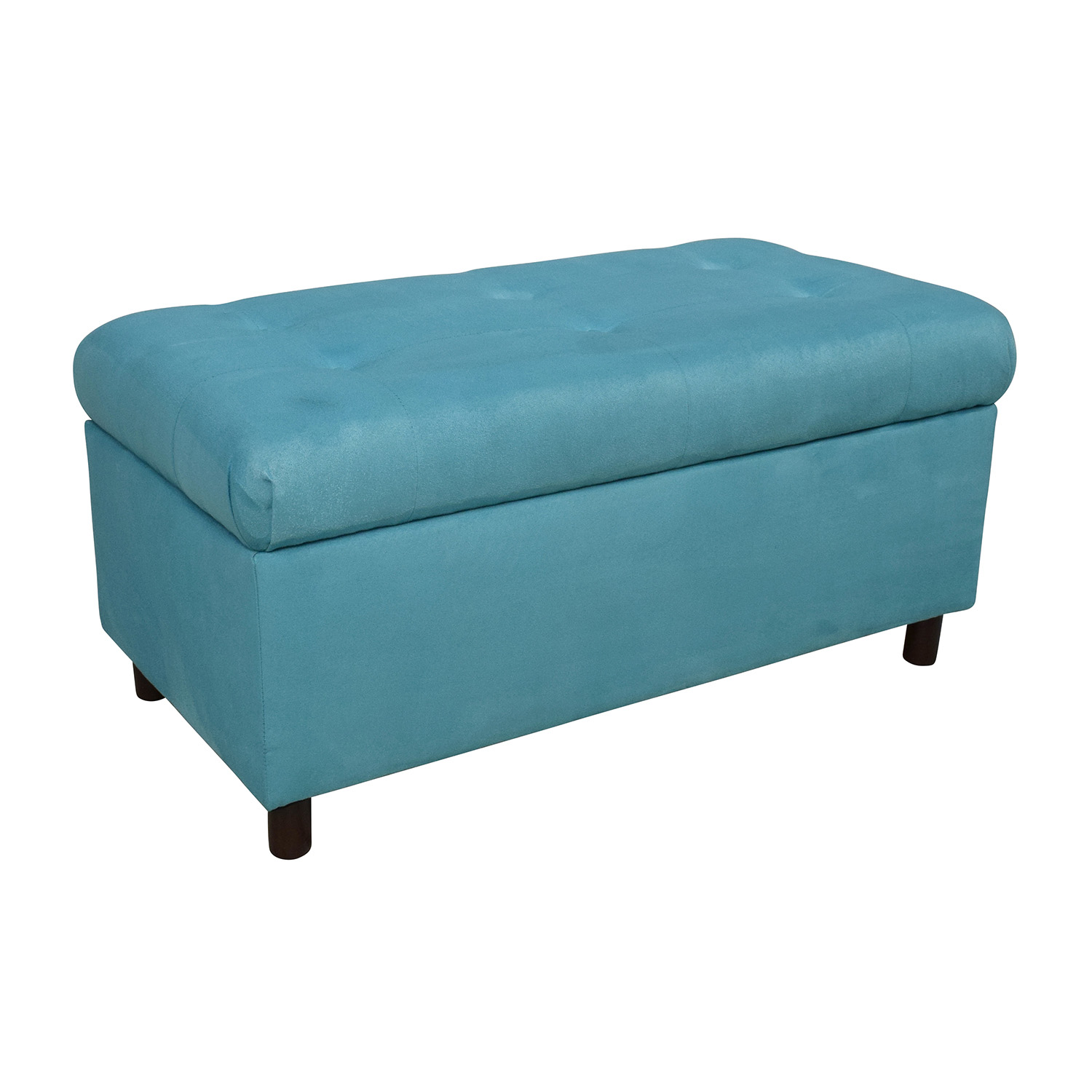 51 Off Alcott Hill Alcott Hill Bretton Tufted Top Bench Storage Ottoman Storage
