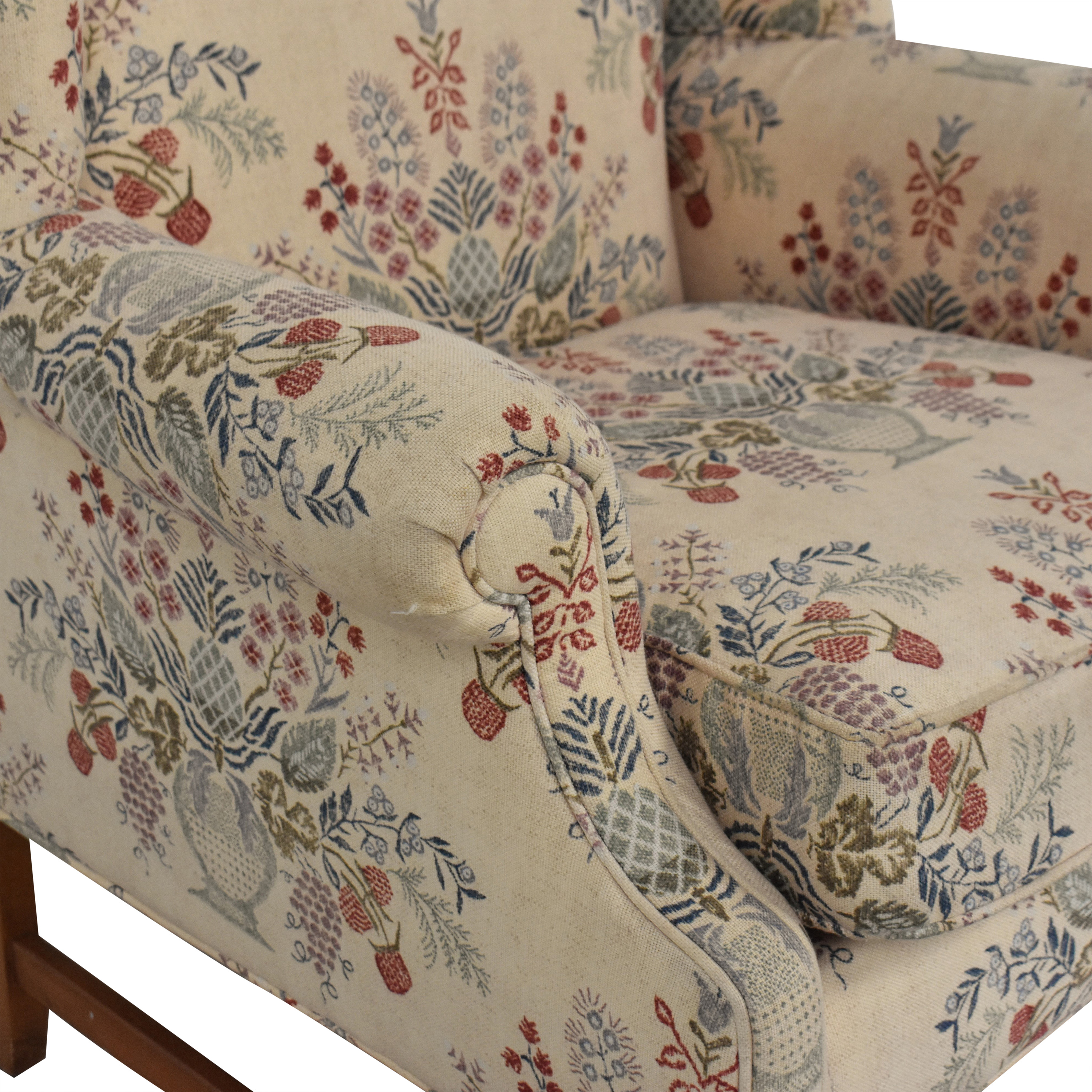 Ethan Allen Wing Chair / Chairs