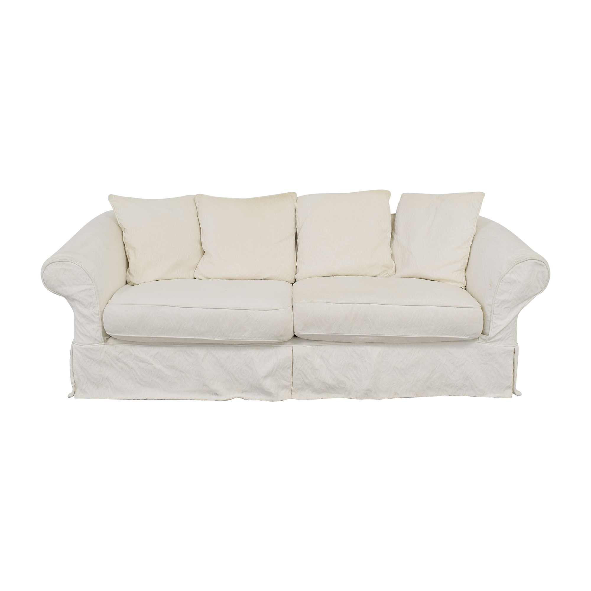 Crate & Barrel Crate & Barrel Slipcovered Couch Sofas