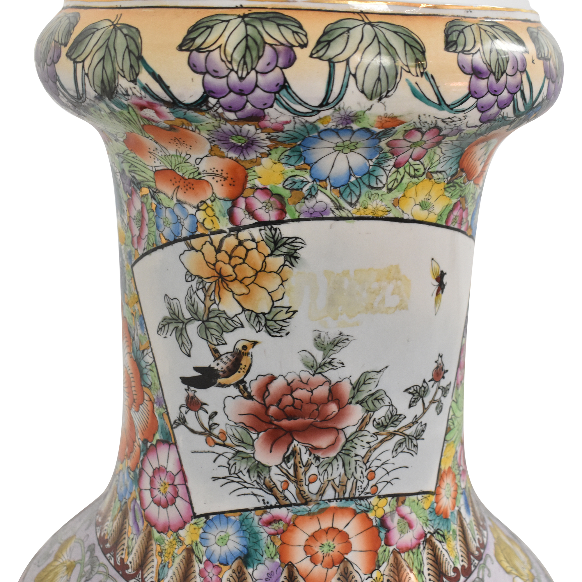 Japanese Style Decorative Vase second hand