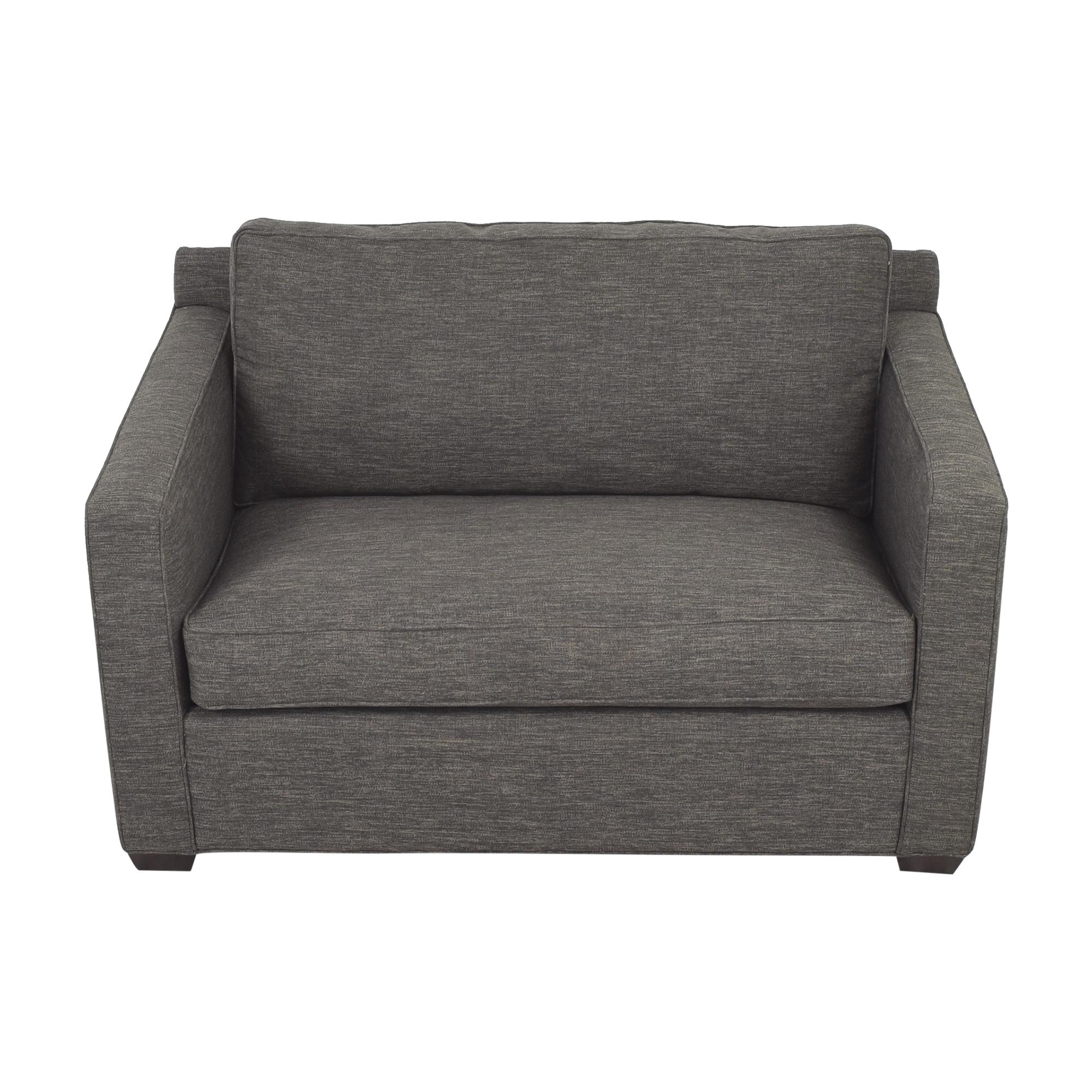 Crate & Barrel Crate & Barrel Twin Sleeper Sofa discount