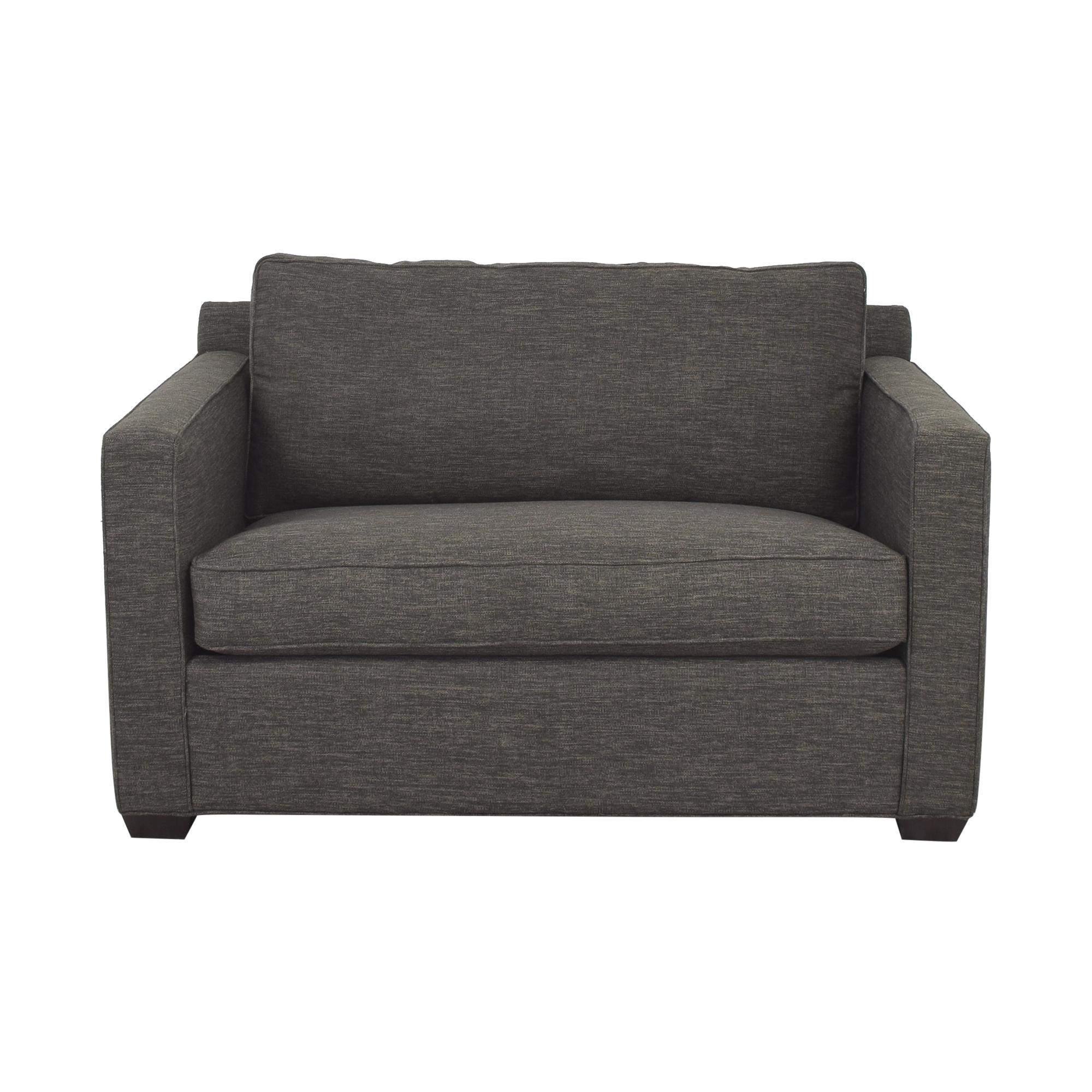 Crate & Barrel Crate & Barrel Twin Sleeper Sofa for sale