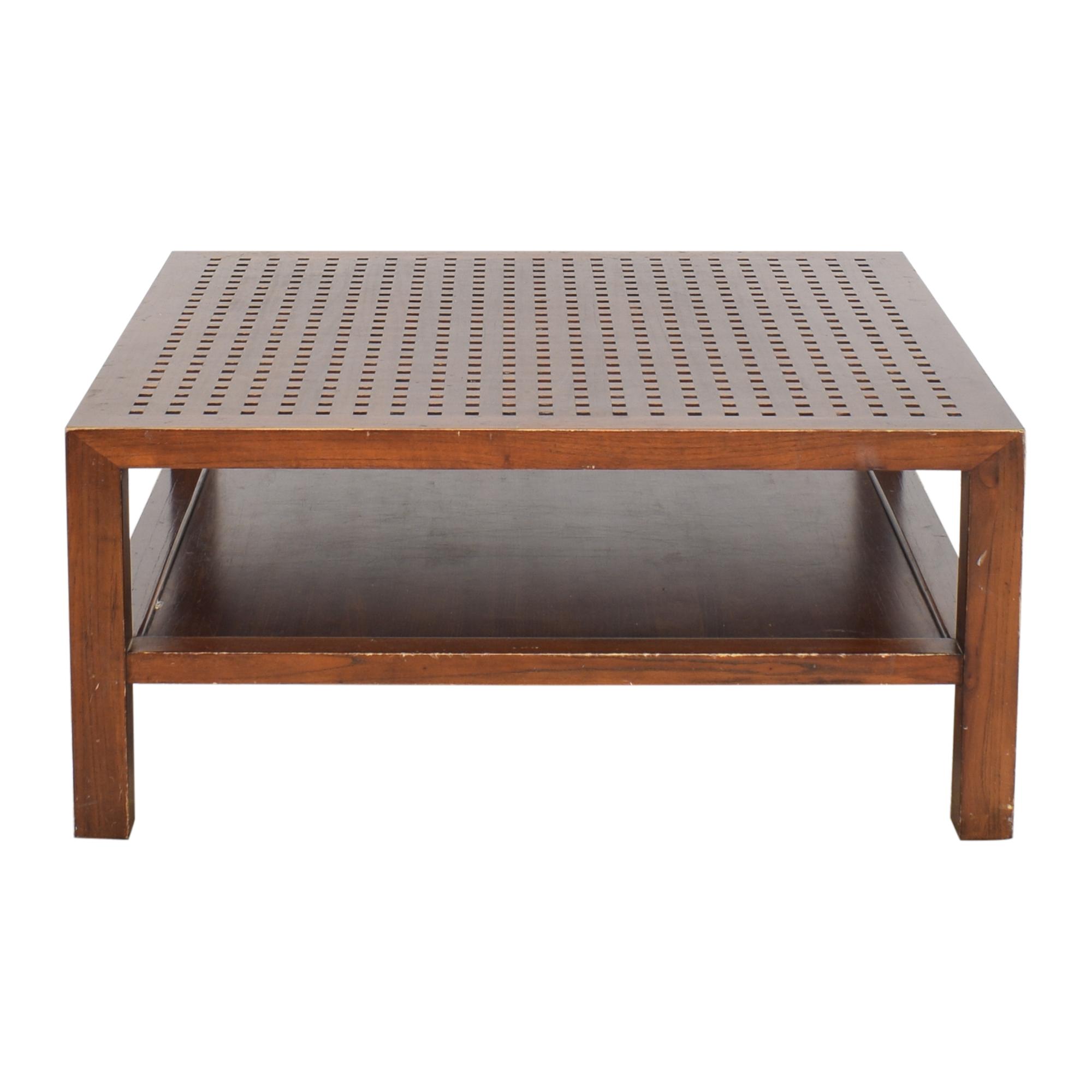 Room & Board Room & Board Maria Yee Grid Coffee Table price