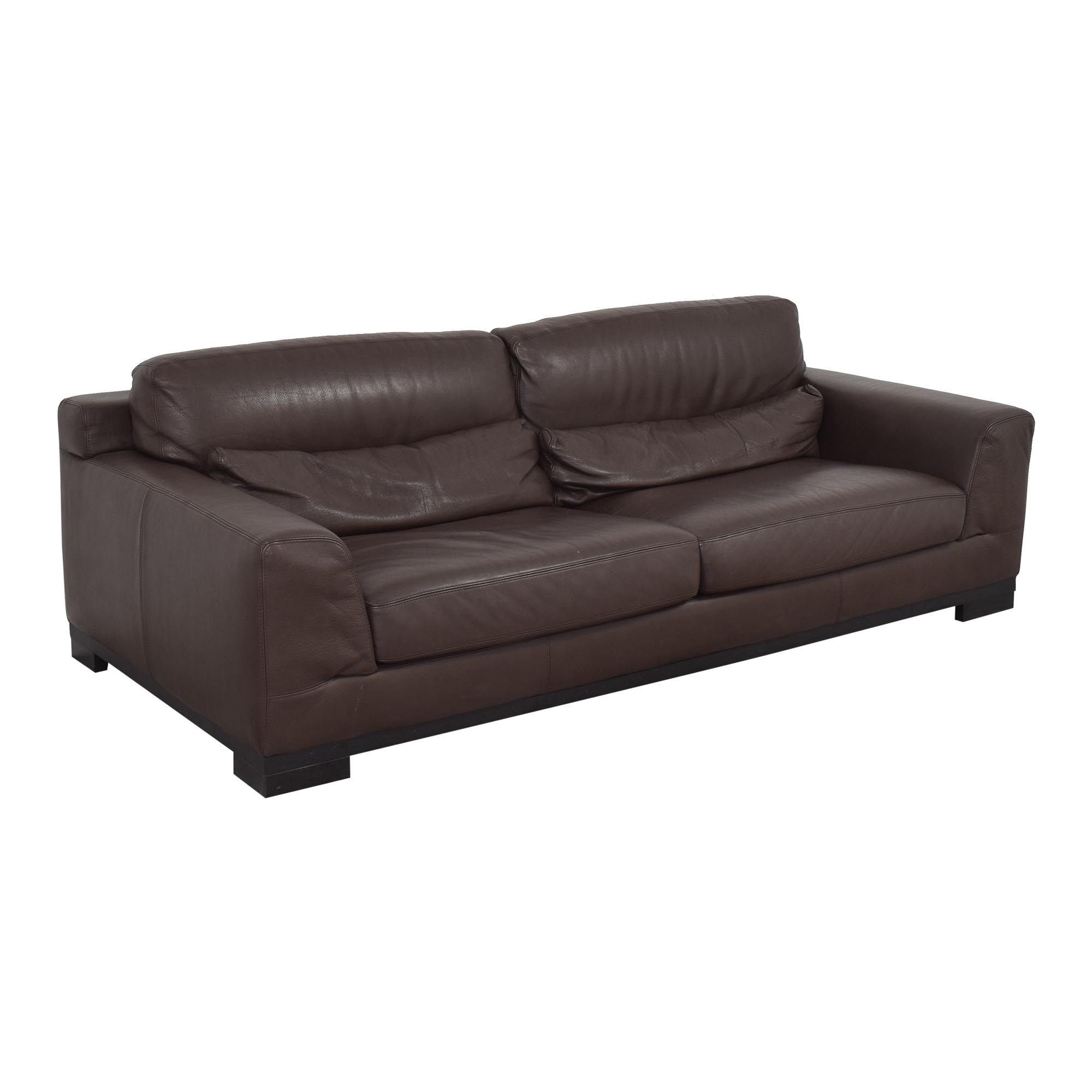 Natuzzi Editions Leather Sofa / Sofas
