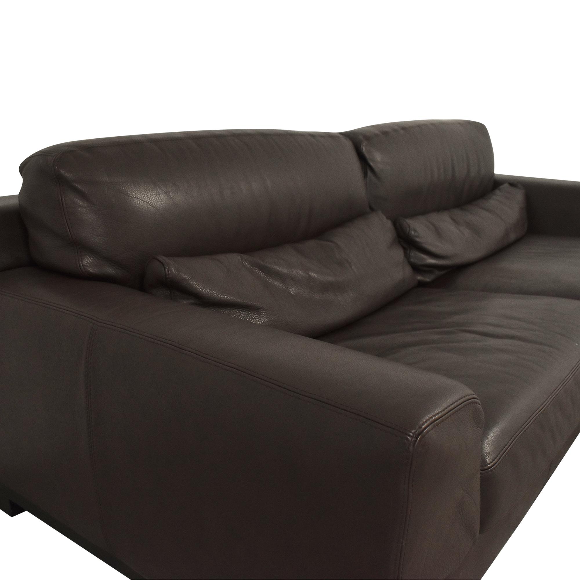 Natuzzi Natuzzi Editions Leather Sofa on sale