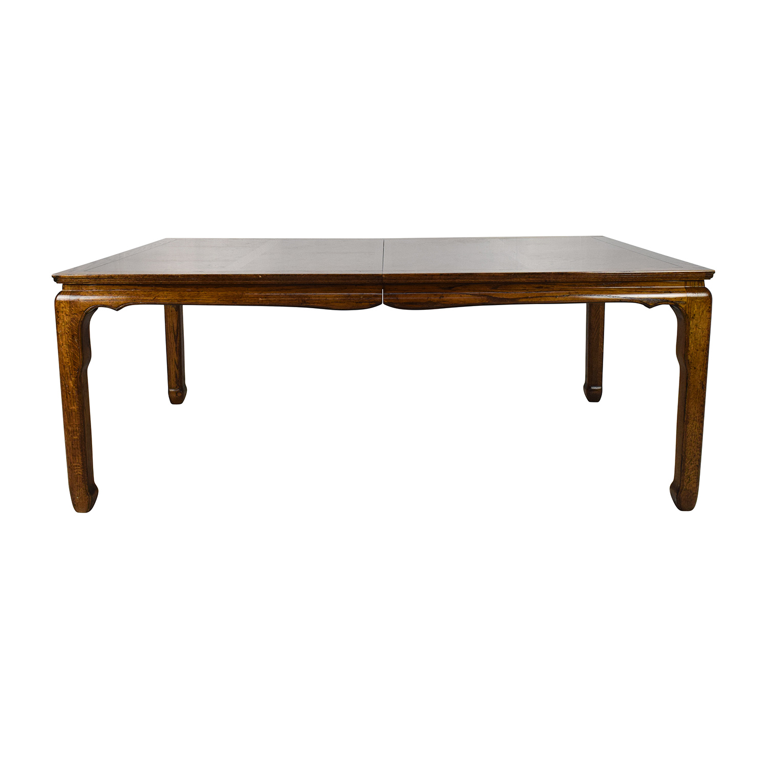 Antique Style Brown Wood Dining Room Table On Sale