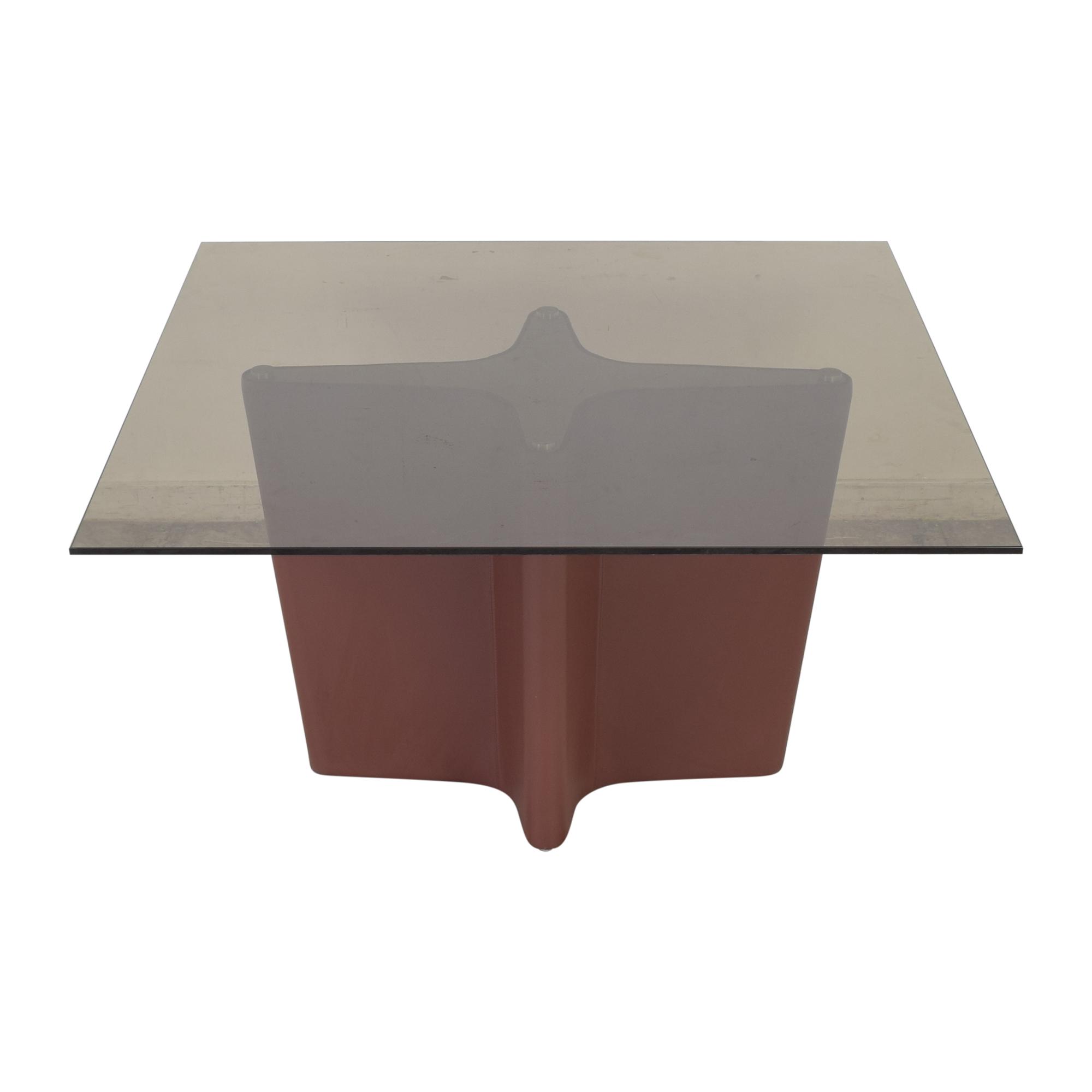 Elite Modern Elite Modern Pedestal Dining Table ma