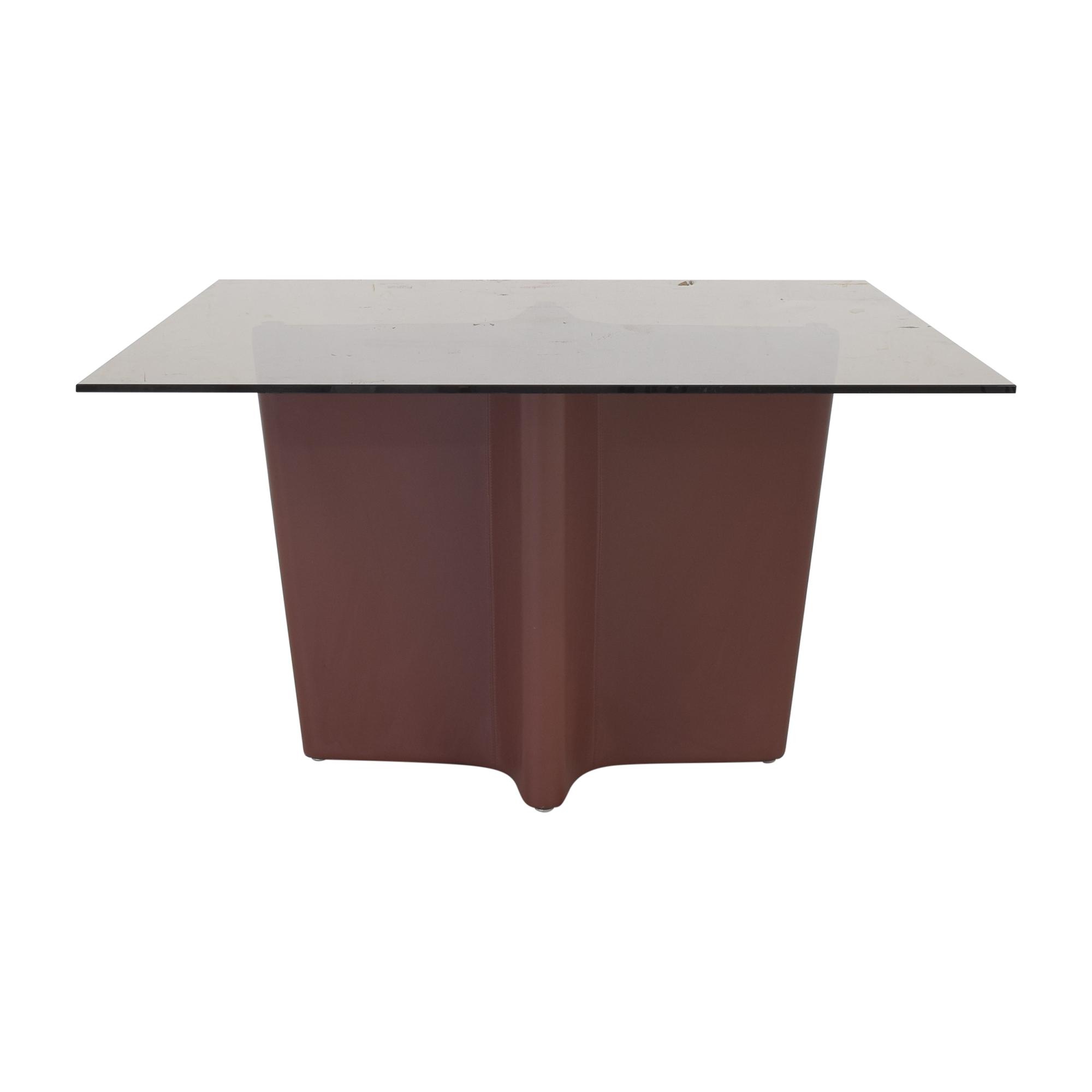shop Elite Modern Pedestal Dining Table Elite Modern Dinner Tables