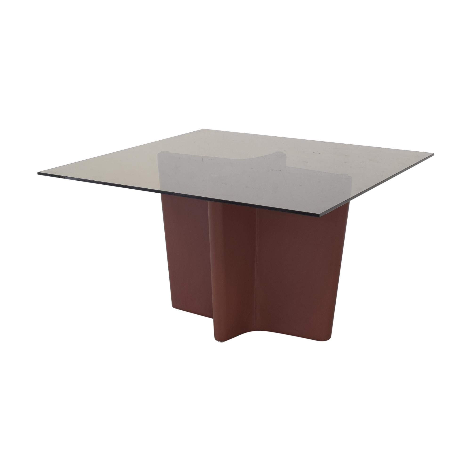 shop Elite Modern Pedestal Dining Table Elite Modern