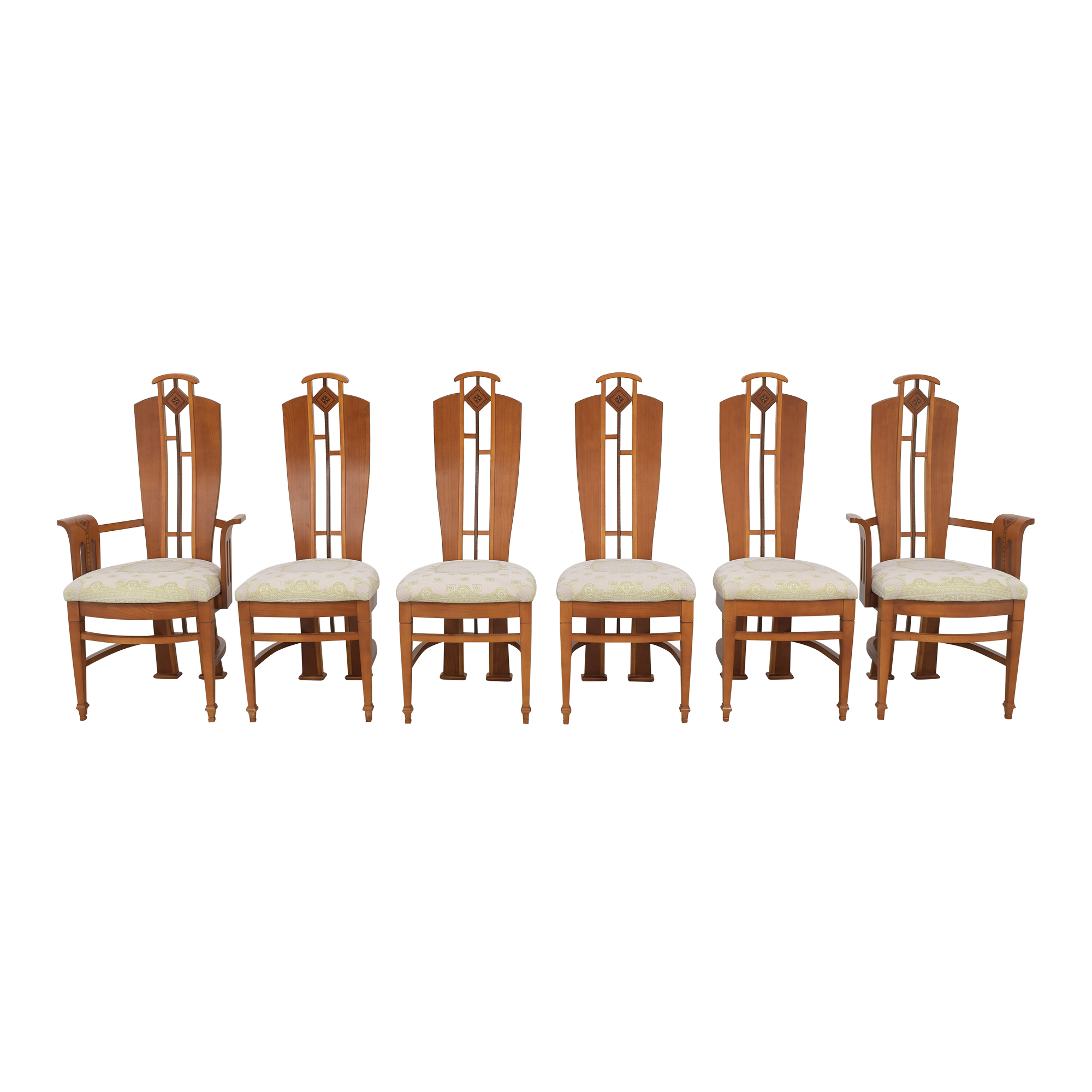 World Of Decor Dining Chairs brown & beige